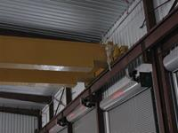 Typical refurbished, long span, double box girder crane.