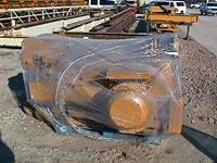 Typical used/refurbished hoist packaged for shipment.