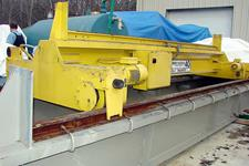 FOR SALE NOW 40 Ton capacity Shaw-Box, boogey endtruck crane.