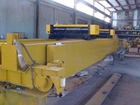 50 Ton (2 x 25 Ton) x 60 ft Span Typical Refurbished/New Hoists and Endtruck Drive Motors